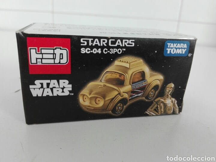 Coches a escala: STAR CARS- C-3PO- STAR WARS - TOMICA- MADE VIETNAM- 1/64@prox - TOMY TAKARA- SC 04- - Foto 19 - 221275868