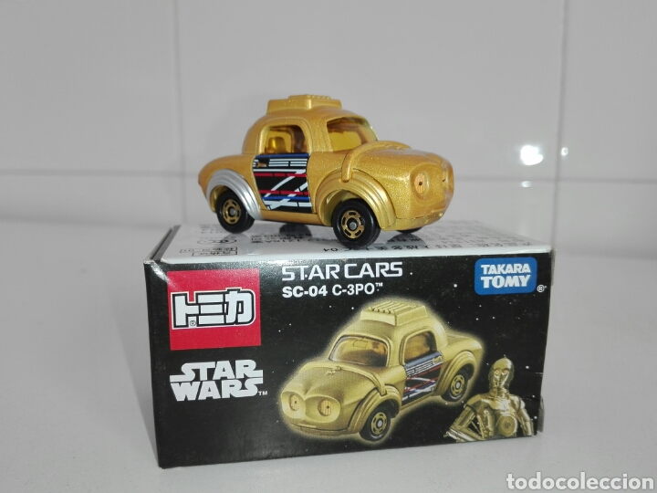 STAR CARS- C-3PO- STAR WARS - TOMICA- MADE VIETNAM- 1/64@PROX - TOMY TAKARA- SC 04- (Juguetes - Coches a Escala Otras Escalas )