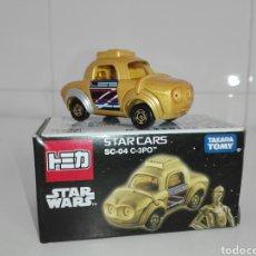 Coches a escala: STAR CARS- C-3PO- STAR WARS - TOMICA- MADE VIETNAM- 1/64@PROX - TOMY TAKARA- SC 04-. Lote 221275868