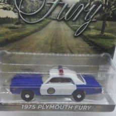 Carros em escala: PLYMOUTH FURY POLICIA OSAGE (1975) GREENLIGHT 1/64. Lote 221648237