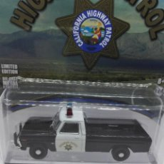 Coches a escala: FORD F-100 HIGHWAY PATROL (1975) GREENLIGHT 1/64. Lote 221648440