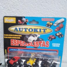 Coches a escala: BLISTER AUTOKIT MICROMACHINES - FAMOSA. Lote 221678941