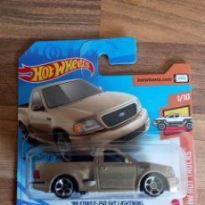 Coches a escala: HOT WHEELS FORD F-150 SVT. Lote 221782752