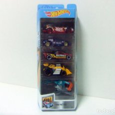 Coches a escala: PACK 5 COCHES HOT WHEELS HW METRO 2019 - HIGH ROCK N ROLL ZOTIC POLICE BEDLAM SPEED DOZER SKY FI. Lote 221841112