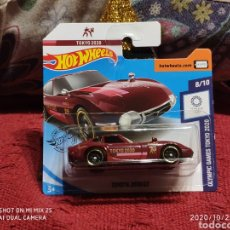 Coches a escala: HOTWHEELS: TOYOTA 2000 GT (OLYMPIC GAMES TOKYO 2020). Lote 221979005