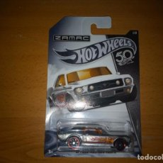 Coches a escala: HOT WHEELS ZAMAC FORD MUSTANG. Lote 221980640