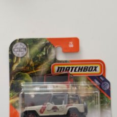 Coches a escala: MATCHBOX JEEP WRANGLER JURASSIC PARK 18 -C. Lote 221999735