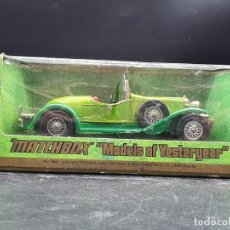 Coches a escala: MATCHBOX MODELS YESTERYEAR. Y-16 1928 MERCEDES SS COUPE. Lote 222009386