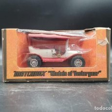 Coches a escala: MATCHBOX MODELS YESTERYEAR. Y-1 1911 MODEL ¨T¨´ FORD. Lote 222010331