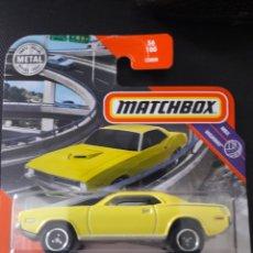 Coches a escala: MATCHBOX 1970 PLYMOUTH CUDA. Lote 222012970
