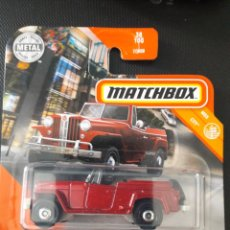 Coches a escala: MATCHBOX 1948 WILLYS JEEPSTER. Lote 222013387