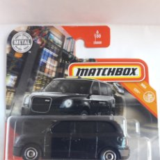 Coches a escala: MATCHBOX LEVC TX TAXI 1:64. Lote 222014345