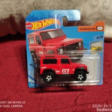 Coches a escala: HOTWHEELS: LAND ROVER DEFENDER 90 (FACTORY FRESH). Lote 222078075
