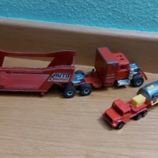 Coches a escala: CAMION SIKU Y MAJORETTE MADE IN FRANCE Y ENGLANG. Lote 222255971