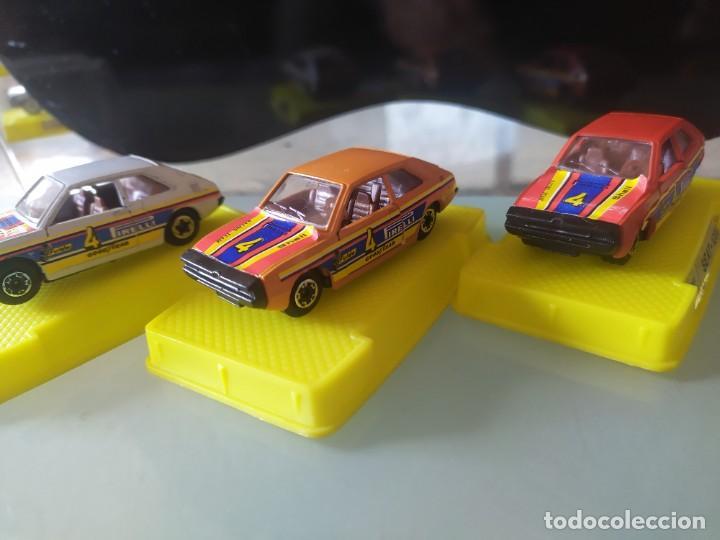 Coches a escala: Lote de 3 coches marca mira Made in spain con caja original seat 1200 taxi - Foto 3 - 222342401