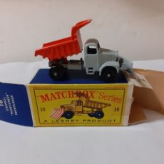 Coches a escala: MATCHBOX QUITANIEVES SCAMMELL MOUNTAINNER EN CAJA REF 16. Lote 222832227