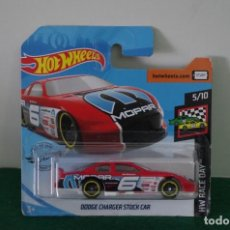 Auto in scala: HOT WHEELS DODGE CHARGER STOCK CAR HX RACE DAY 5/10. Lote 222880643