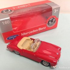Coches a escala: SERIES - MRCEDES BENZ - ESCALA 1/60 *** WELLY *** DIE CAST METAL. Lote 223460120