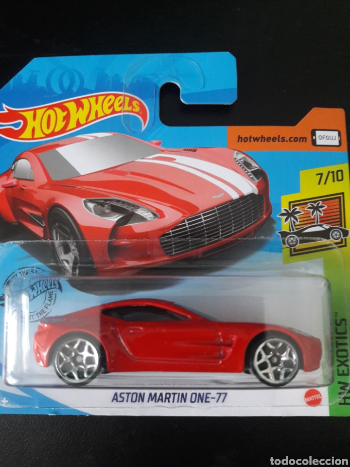 Hot Wheels Aston Martin One 77 Buy Model Cars At Other Scales At Todocoleccion 223680208