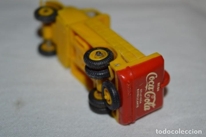 Coches a escala: Lote 04 - ANGUPLAS / MINI CARS - Camión EBRO COCA COLA - Muy ANTIGUO - ¡Mira fotos y detalles! - Foto 15 - 224660908