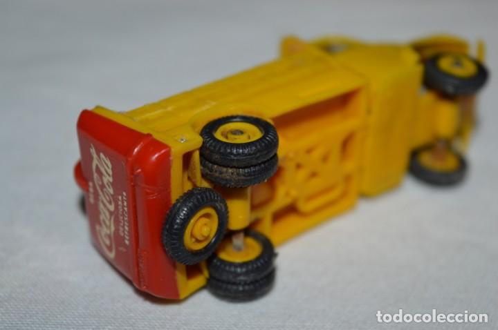 Coches a escala: Lote 04 - ANGUPLAS / MINI CARS - Camión EBRO COCA COLA - Muy ANTIGUO - ¡Mira fotos y detalles! - Foto 16 - 224660908