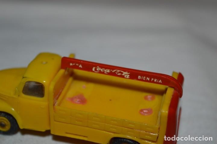 Coches a escala: Lote 04 - ANGUPLAS / MINI CARS - Camión EBRO COCA COLA - Muy ANTIGUO - ¡Mira fotos y detalles! - Foto 18 - 224660908
