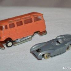 Coches a escala: LOTE 07 - ANGUPLAS / MINI CARS - VEHÍCULOS MERCEDES BENZ - MUY ANTIGUO - ¡MIRA FOTOS Y DETALLES!. Lote 224661087