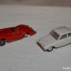Coches a escala: LOTE 10 - ANGUPLAS / MINI CARS - 2 VEHÍCULOS VARIADOS - MUY ANTIGUO - ¡MIRA FOTOS Y DETALLES!. Lote 224661236
