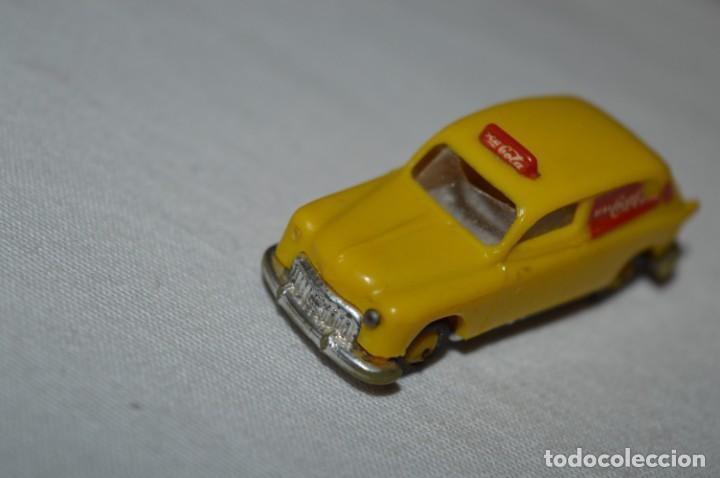 Coches a escala: Lote 19 - ANGUPLAS / MINI CARS - Furgoneta SEAT 1400 COCA COLA - Muy ANTIGUO - ¡Mira fotos/detalles! - Foto 7 - 224661596