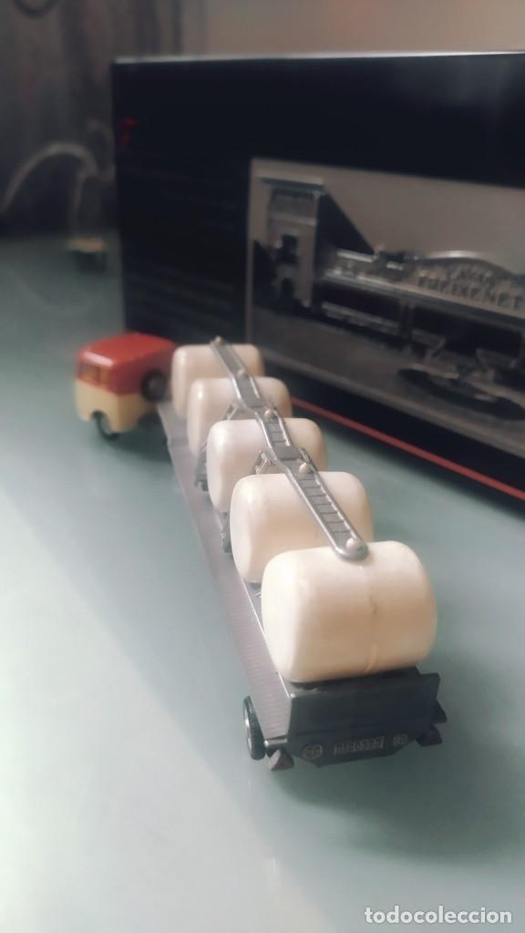 Coches a escala: Miniaturas eko escala 1:88 h0 primeras series Mercedes camión transporte leche lechera - Foto 6 - 224979880