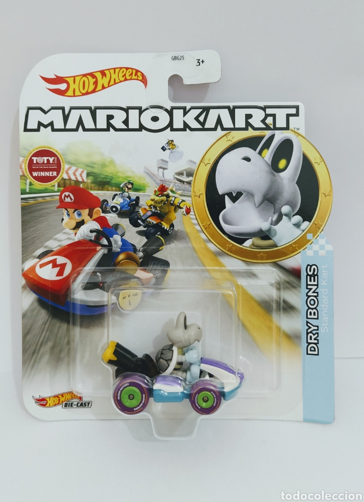 HOT WHEELS MARIOKART DRY BONES (Juguetes - Coches a Escala Otras Escalas )