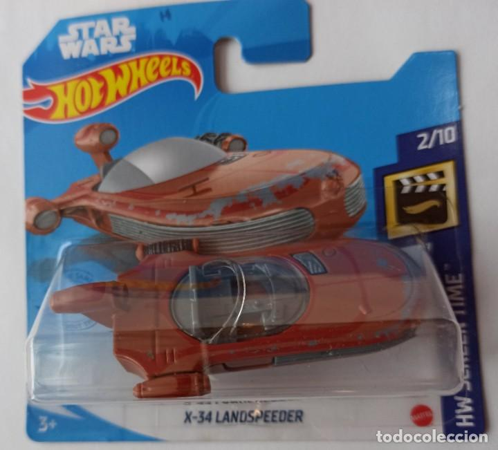 HOT WHEELS X-32 LANDSPEEDER. STAR WARS. HW SCREEN TIME 2/10 (1) (Juguetes - Coches a Escala Otras Escalas )