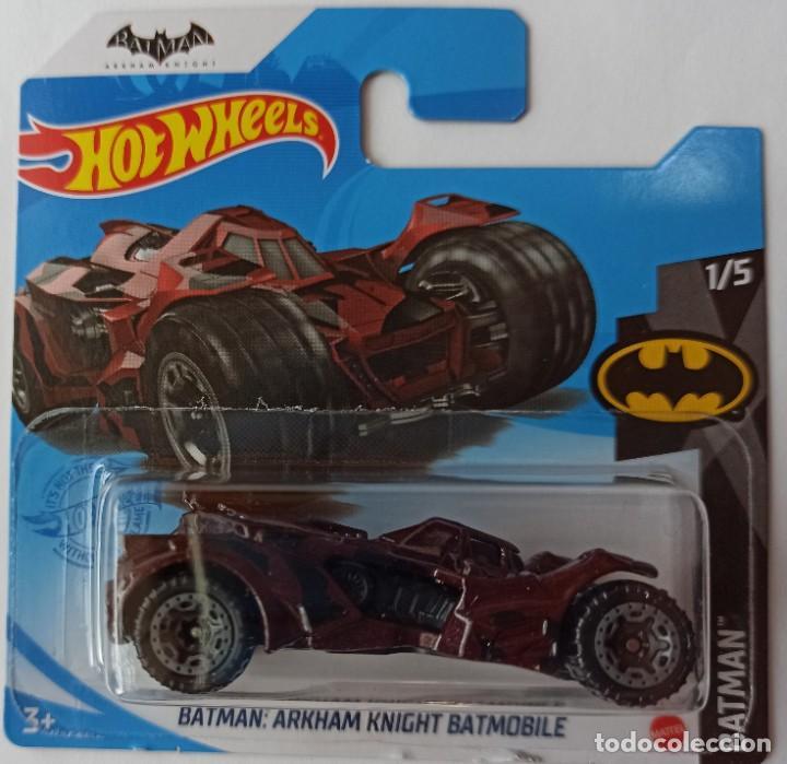 HOT WHEELS BATMAN:ARKHAM KNIGHT BATMOBILE. BATMAN 1/5 (1) (Juguetes - Coches a Escala Otras Escalas )