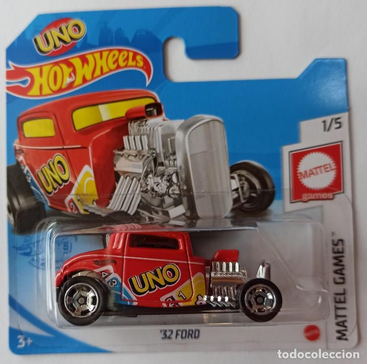 HOT WHEELS '32 FORD. UNO. MATTLE GAMES 1/5 (2) (Juguetes - Coches a Escala Otras Escalas )