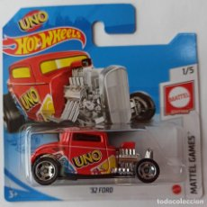 Coches a escala: HOT WHEELS '32 FORD. UNO. MATTLE GAMES 1/5 (2). Lote 226897142