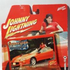 Coches a escala: JOHNNY LIGHTNING VINTAGE 1:64 '99 CHECVY CAMARO SS. Lote 227856405
