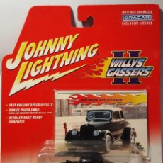 Coches a escala: JOHNNY LIGHTNING VINTAGE 1:64 '33 WILLYS. Lote 227856555