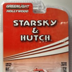 Coches a escala: GREENLIGHT 1:64 '76 FORD GRAN TORINO STARSKY & HUTCH HOLLYWOOD SERIES. Lote 227857675