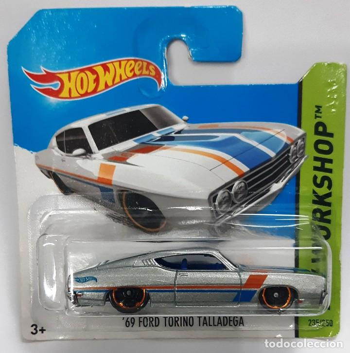 HOT WHEELS 1:64 FORD TORINO TALLADEGA (Juguetes - Coches a Escala Otras Escalas )