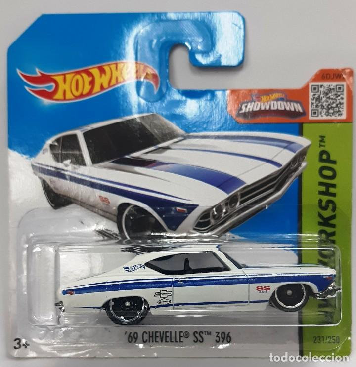 HOT WHEELS 1:64 '69 CHEVELLE SS 396 (Juguetes - Coches a Escala Otras Escalas )
