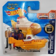 Coches a escala: HOT WHEELS 1:64 THE BEATLES YELLOW SUBMARINE 1A EDICIÓN. Lote 228123725