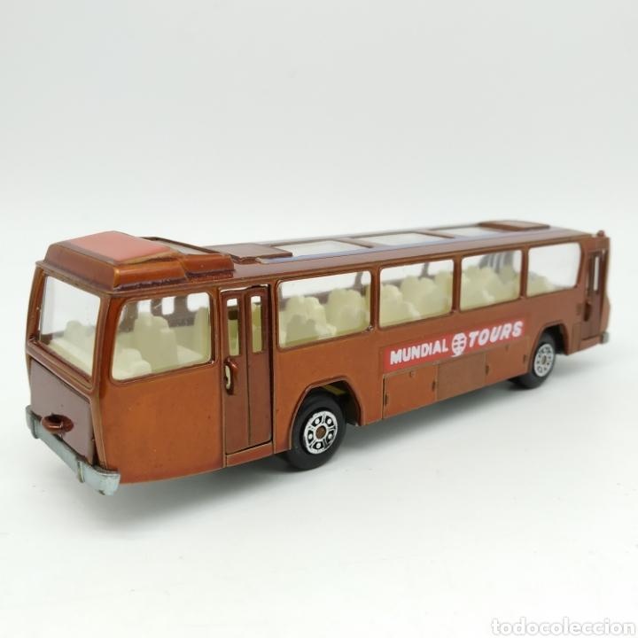 Coches a escala: Autobús Mercedes Mundial Tours en escala 1/64 Referencia 80 Colección Miniaturas Dragón de MIRA - Foto 4 - 229238680
