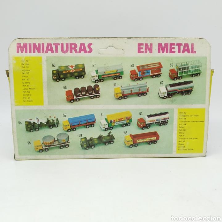 Coches a escala: Autobús Mercedes Mundial Tours en escala 1/64 Referencia 80 Colección Miniaturas Dragón de MIRA - Foto 9 - 229238680