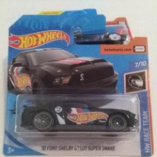 Coches a escala: HOT WHEELS 10 FORD SHELBY GT500 SUPER SNAKE.. Lote 229403365