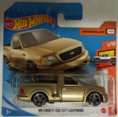 Coches a escala: HOT WHEELS '99 FORD F-150 SVT LIGHTNING. HW HOT TRUCKS 1/10. Lote 229482420