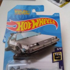 Coches a escala: HOT WHEELS DELORIAN REGRESO AL FUTURO BACK THE FUTURE TIME MACHINE HOVER MODE.. Lote 230371135