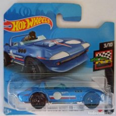 Coches a escala: HOT WHEELS CORVETTE GRAND SPORT ROADSTER. HW RACE DAY 3/10. (1). Lote 231360600