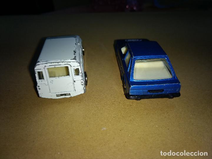 Coches a escala: lote coches FORD SCORT -LAND ROVER -MIRA . escala 1/64 o similar made spain años 70-80 - Foto 2 - 232219440