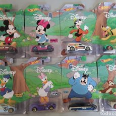 Coches a escala: LOTE 8 COCHES DISNEY HOT WHEELS. Lote 232339115