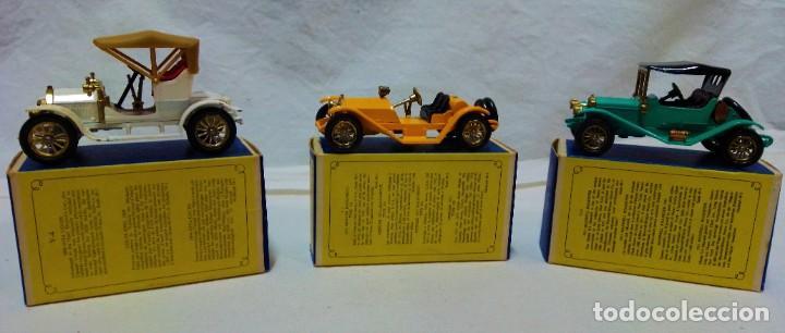 Coches a escala: LOTE 3 MODELOS COCHES ANTIGUOS MATCHBOX.Y4,Y7,Y14.EN SUS CAJAS.VER DESCRIPCIÓN Y FOTOGRAFIAS. - Foto 2 - 232858550